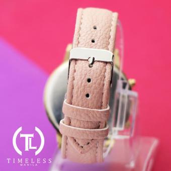 Timeless Manila Jennifer Chrono Leather Watch (Old Rose) - 3
