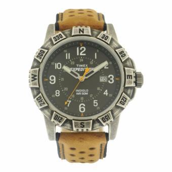 Timex Mens Brown Leather Watch TWH0Y4810