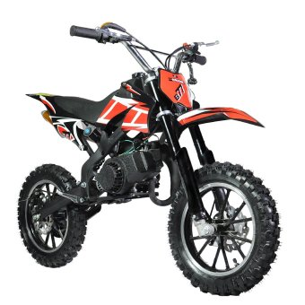 Tinker Motors Enduro DBS 49cc Pocket Rocket Dirt Bike - (Black)