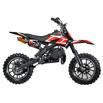 Tinker Motors Enduro DBS 49cc Pocket Rocket Dirt Bike - (Black) - picture 2