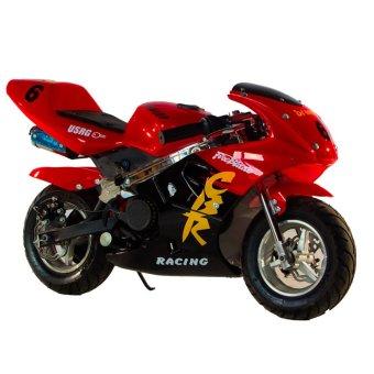 Tinker Motors GPX 49cc Pocket Rocket Sports Bike (Red/Black)