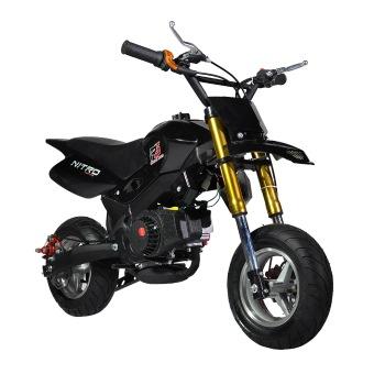 Tinker Motors SMX 49cc Pocket Rocket Motard Dirt Bike (Black)(…)