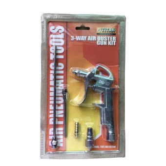 Titan Supertools 3 way Nozzle Air Blow Duster Gun Set