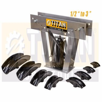 Titan Supertools TST-PBJ 1/2 to 3 In. Pipe Bender Jack Type 16 Tons(Grey/Black)