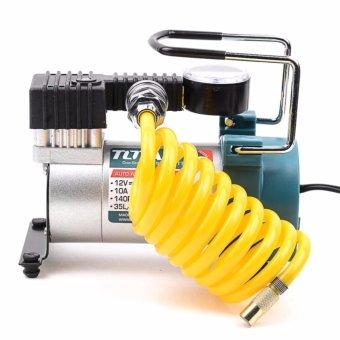 TOTAL Auto Mini Air Compressor 12v/140psi