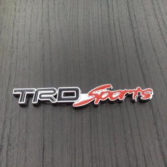 Toyota TRD Sports Black Emblem Stick On