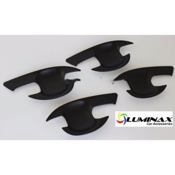 Toyota Vios 2014+ Door Handle Bowl Insert (4pcs/Set) Matte Black