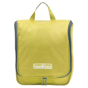 Travel Check Multi-functional Travel Kit Organizer Bag (Yellow)
