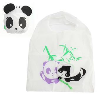 Travel Foldable Handbag Grocery Shopping Bag Panda - picture 2