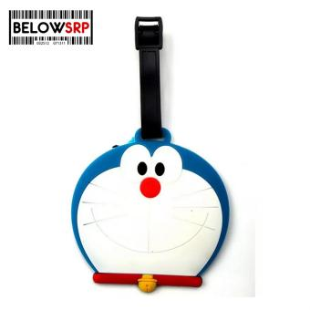 Travel Manila Character Luggage Bag Tag with Name, ID, AddressLabel ( Doraemon Head)
