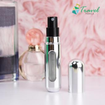 Travel Manila Perfume Atomizer (Metallic Silver)