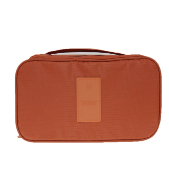 Travel Organizer Bra Underwear Pouch Cosmetic (Orange)