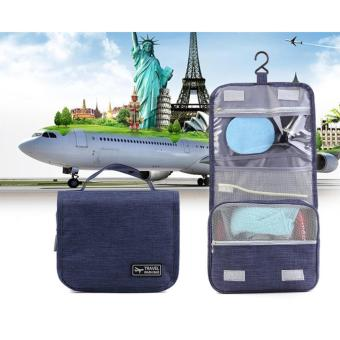 Travel Was Bag Toiletry Pouch (Blue) - 4