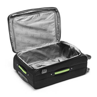 "Travelex 015 Soft Case Luggage 19"" (Black/Green) - picture 2"