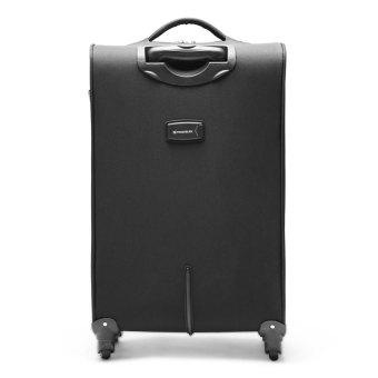 "Travelex 015 Soft Case Luggage 19"" (Black/Green)"