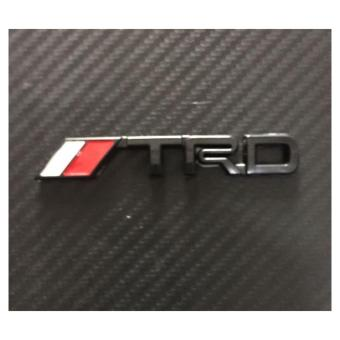 TRD Badge Emblem Stick on type Small (Black)