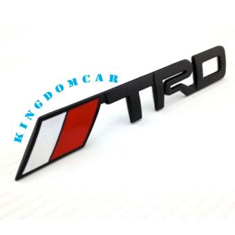 TRD Emblem Stick-On Type (Black)