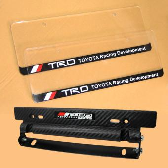 TRD Plate Cover with Plate Holder Bundle for Toyota Vios