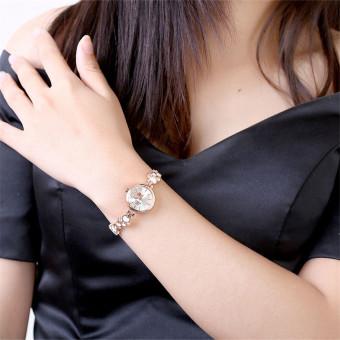 Treasure by B&D WH0025W Heart shape Chain Quartz Casual WomenLady Watch (Rose Gold) - 5