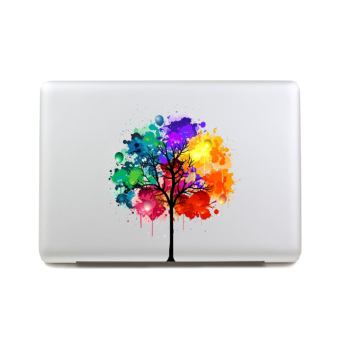 Tree Sticker Partial Cover Decal Skin for 13-inch Macbook Air(Multicolor)