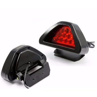 Triangle Brake Light Fog Lamp Universal Red LED Flash Bulbs TruckAuto Warning Light Car-styling Price Philippines