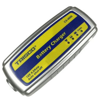 Trisco CX-4000 Portable Car Battery Charger (Blue/Yellow/Silver)