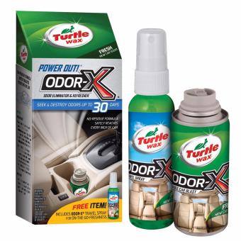 Turtle Wax 50653 Power Out Odor-X door Eliminator and Refresher
