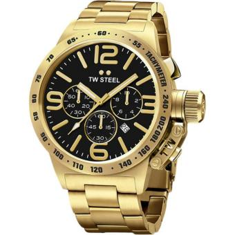 TW Steel Gold Canteen Bracelet Watch (CB93)