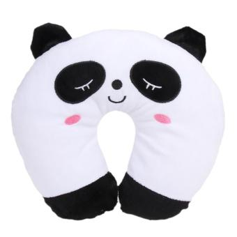 U Shaped Travel Pillow Neck Support Head(Panda)
