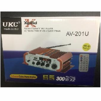 UKC AV-201U 2CH OUTPUT POWER AMPLIFIER (Red) - 2