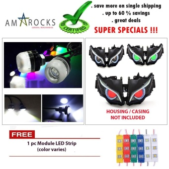 Ultra Bright White LED Motorcycle Bike Scooter Eagle Eye Universal DRL Light Bulb for Yamaha Mio Sporty