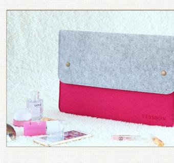 Ultra-Thin Protective Felt Sleeve Envelope Case Pouch Bag For AppleMacBook Pro / MacBook Air/ Retina 13 - 14 Inch - 2