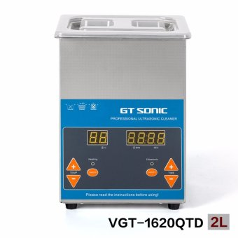 ultrasonic cleaner 2L for jewelry rings necklaces bracelets cleaning VGT-1620QTD GT SONIC - intl
