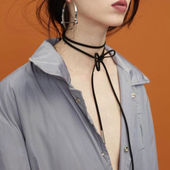 Ulzzang European and American neck band neck collar necklace