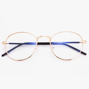 Ulzzang Korean-style female style metal box frame glasses Frame