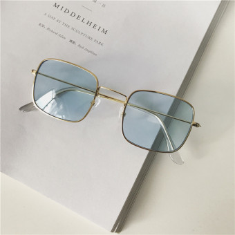 Ulzzang Korean-style multi-color New style transparent glasses