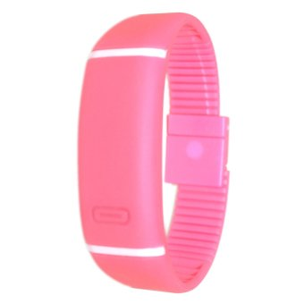 Unisex Pink Digital LED Sports Watch - picture 2
