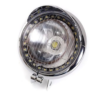 Universal 27 LED Motorcycle Headlight For Harley Chopper