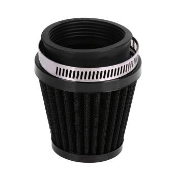 """Universal 39mm/1.54\"""" Motorcycle Air Intake Filter Cleaner (Black) - intl"""