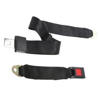 Universal Adjustable Car Truck Two Point Seat Belt Lap Safety Belts- intl