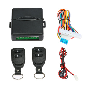 Universal Car Door Lock Keyless Entry System Remote Central Control Box Kit
