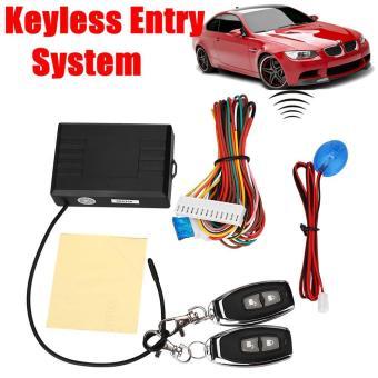 Universal Cars Remote Control Central Door Locking Keyless Entry Kit Set - intl