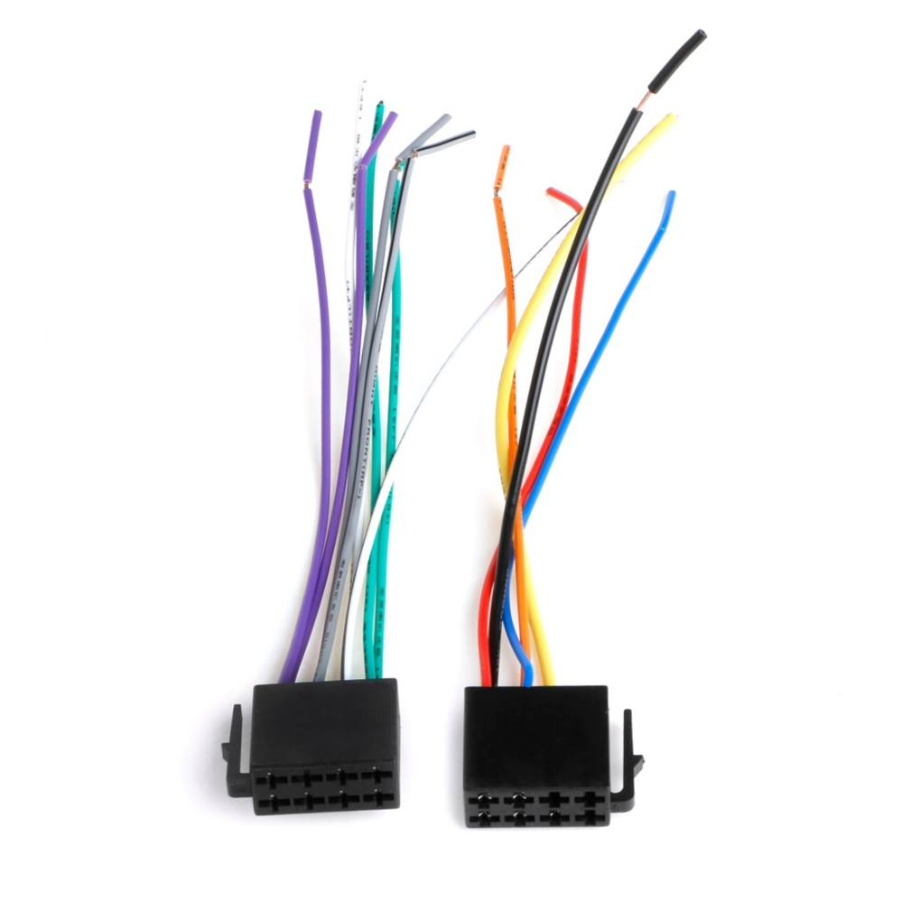 Philippines Universal Female Iso Wiring Harness Car Radio Adaptor Stereo Adapter Loom Connectorwire Plug Kit Intl