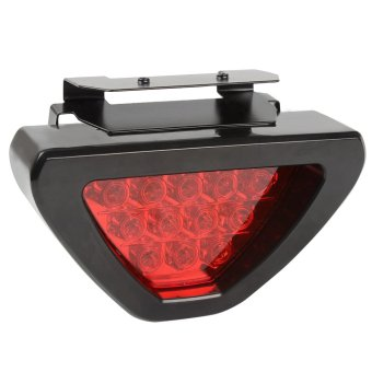 Universal Led Brake Stop Light 12 LED Car Motocycle Triangle TailLight LED Flash Bulbs Safety Strobe Lamp
