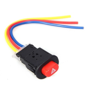 Universal Motorcycle HAZARD SWITCH with FREE Original VS1 Protector