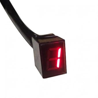 Universal Portable LED Display Motorcycle Gear Indicator - intl - 3