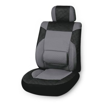 Universal PU Leather Car Seat Cover Interior Protector - intl