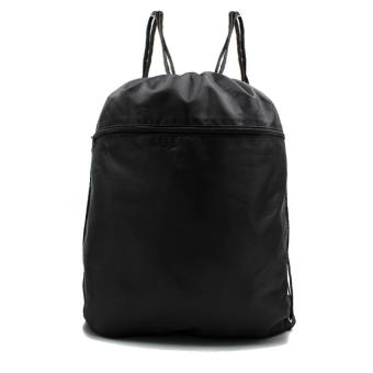 Urban Hikers Lucky Travel Foldable Drawstring Backpack (Black)