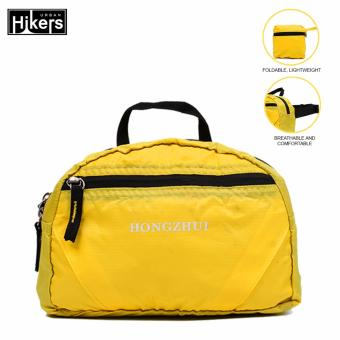Urban Hikers Travel Compact Foldable Waist Pack Waist Bag (Yellow)