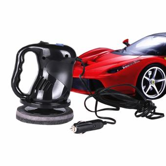 USA TOP ONE lazada and USA best selling 12v Portable Car PolisherElectric Waxing Machine Black